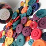 250g of Winter Pop Tart Buttons