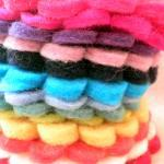 50x 5cm WHOLESALE Mix Pack Wool Fel..