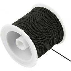 25meters White Elastic Cord 1mm