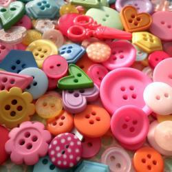 100g Sweet Candy Button Mix