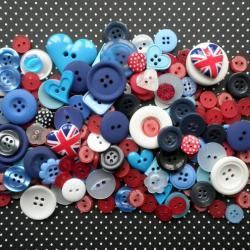 100g British Bulldog Button Mix